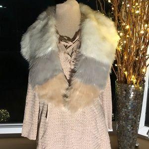 NWT Faux Fur Scarf